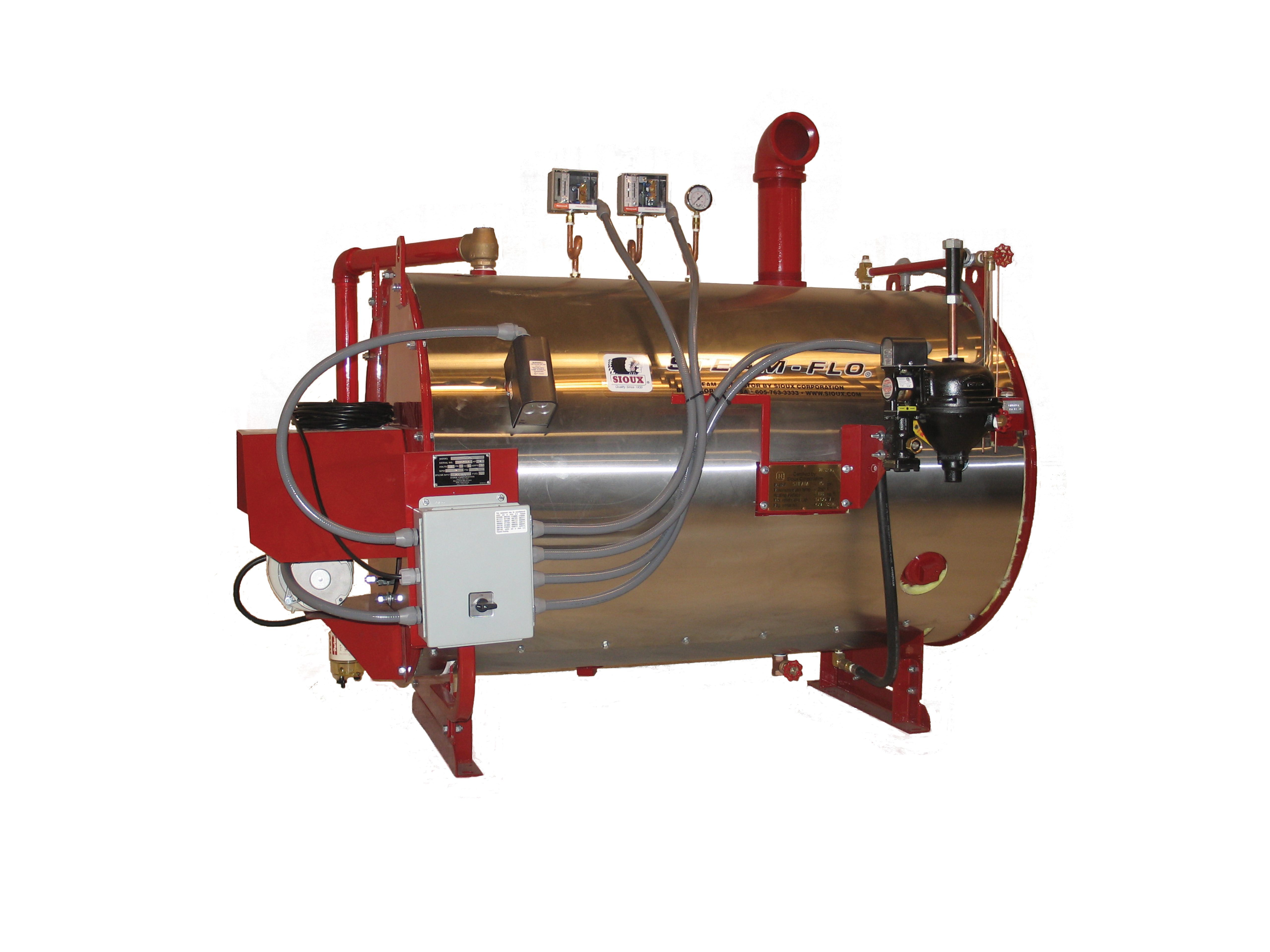 Sioux debuts Steam Flo waste oil burning steam generator