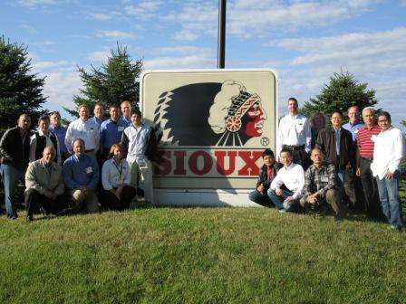 Sioux hosts international distributor training