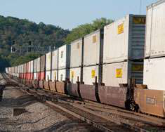 Going intermodal: technology helps fleets ride the rail
