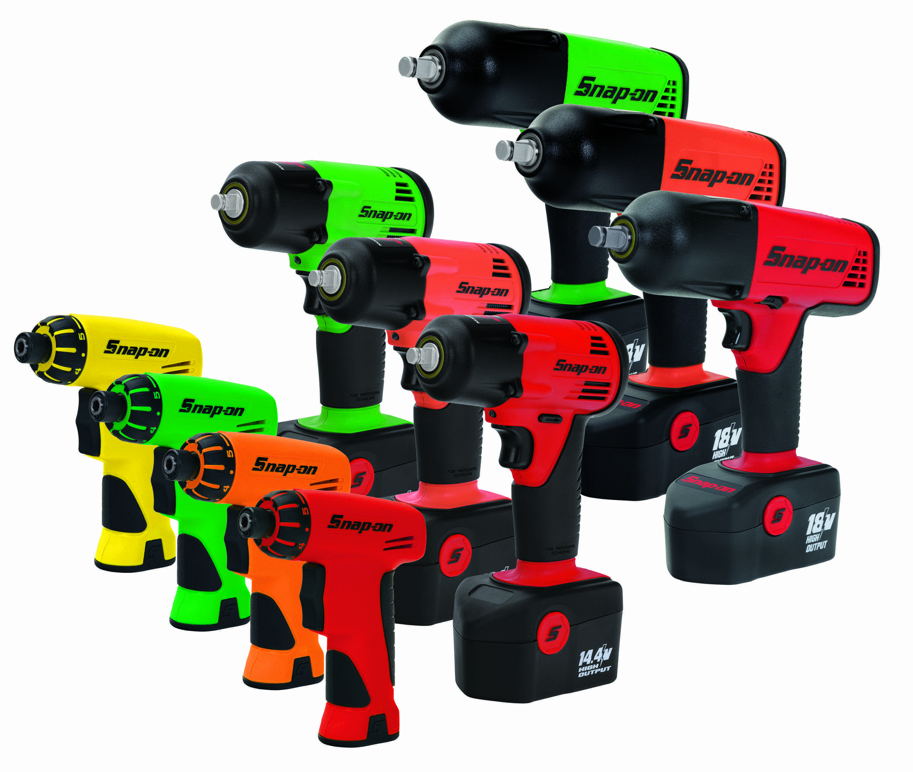 Snap-on adds color to select tools