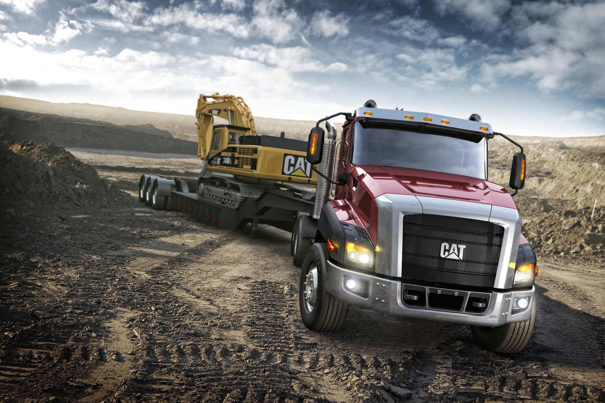 Caterpillar unveils CT660 vocational truck