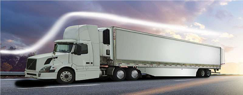 Aerodynamic Tractor Trailer : The path of least resistance