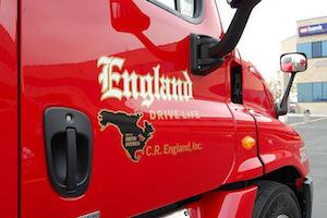 C.R. England offers Texas Regional service