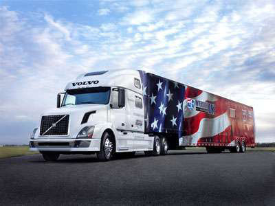 2018 volvo tractor trailer. delighful tractor the specially wrapped volvo tractor and matching trailer used by the  20132014 americau0027s road team will unveil 20152016 later this week on 2018 volvo a