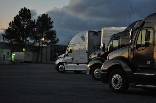 night truck stop