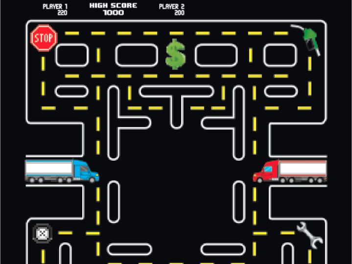 Driving games: Attracting, rewarding drivers while boosting