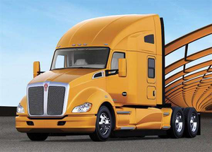 The Kenworth T680 was named the Heavy-Duty Truck of the year Sunday at the ATD Convention & Expo in Orlando, Fla.