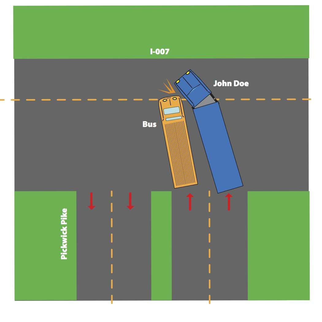 Car Accident Fault Left Turn