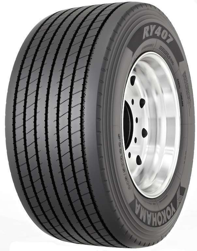 Yokohama's TY517 ultrawide-base drive tire is designed for added traction, long and even wear and increased durability and retreadability.