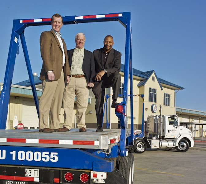 All aboard: Boyd Bros  intermodal solution brings them