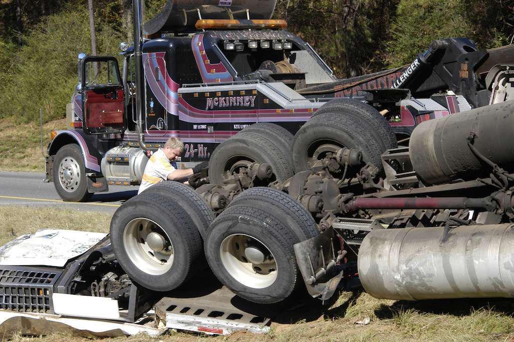 truck wreck csa