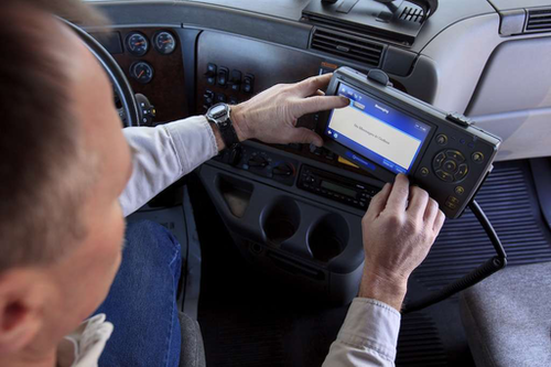 ITS Compliance can receive real-time data from electronic logging devices.