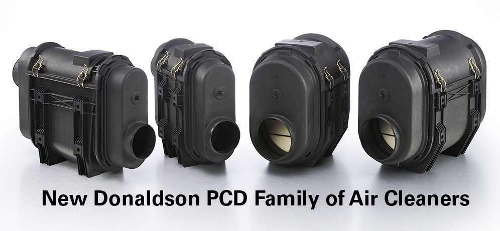 Donaldson Air Cleaner Tops : Donaldson expands air cleaner line
