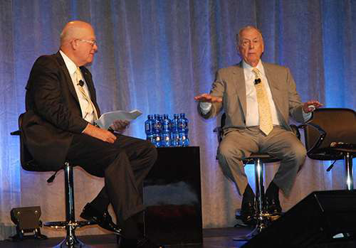 T. Boone Pickens talks about the lack of an energy policy in the United States.