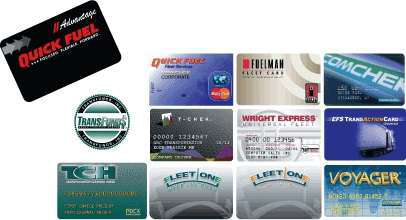 Fuel cards
