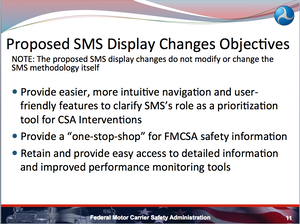 Improved usability or lipstick on a pig? FMCSA explains website changes