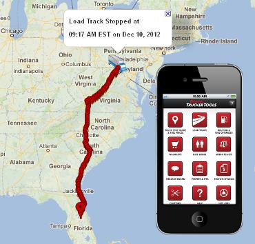 Load Track Website Image