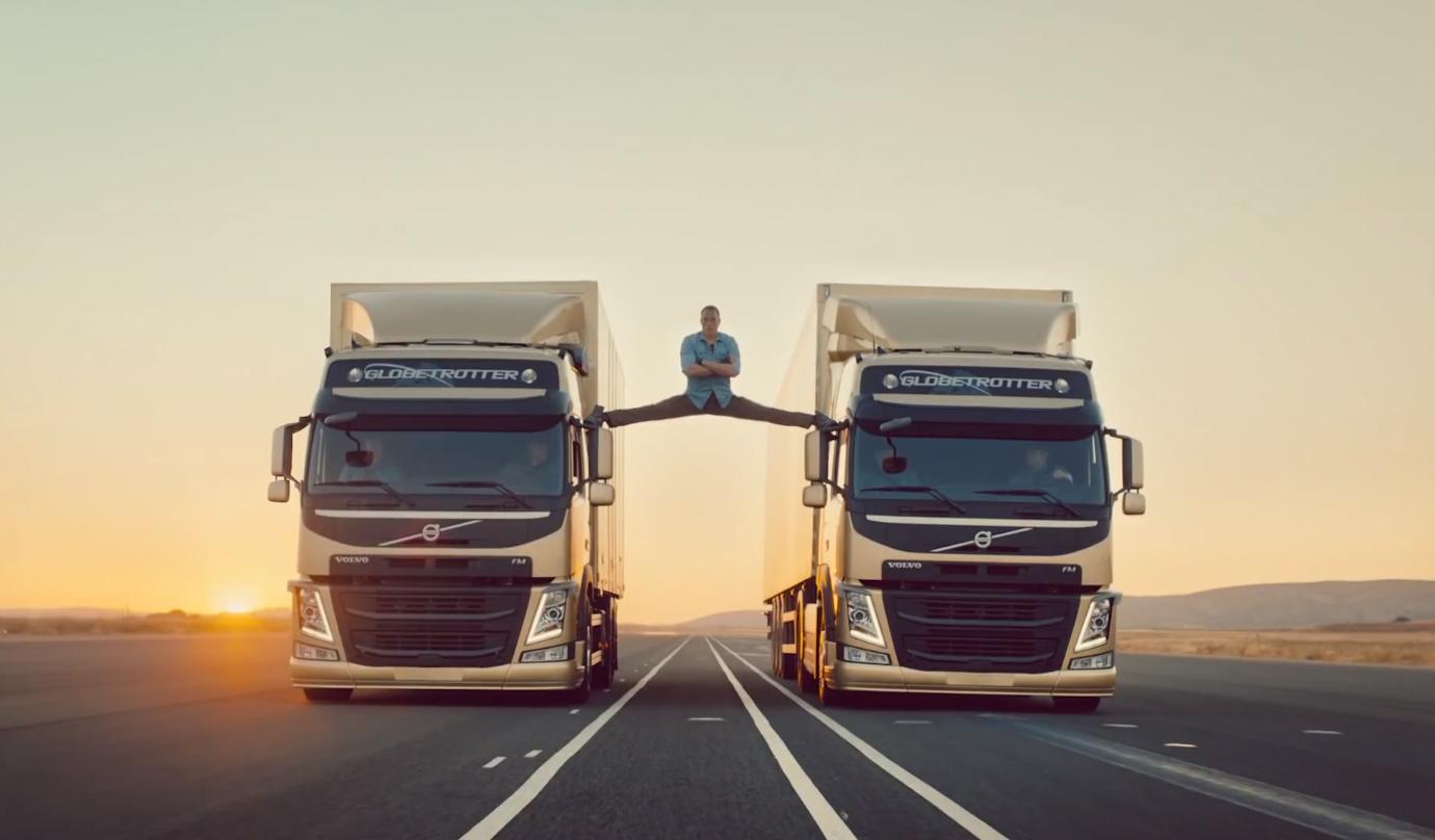 "Резултат с изображение за ""volvo trucks jean claude van damme"""