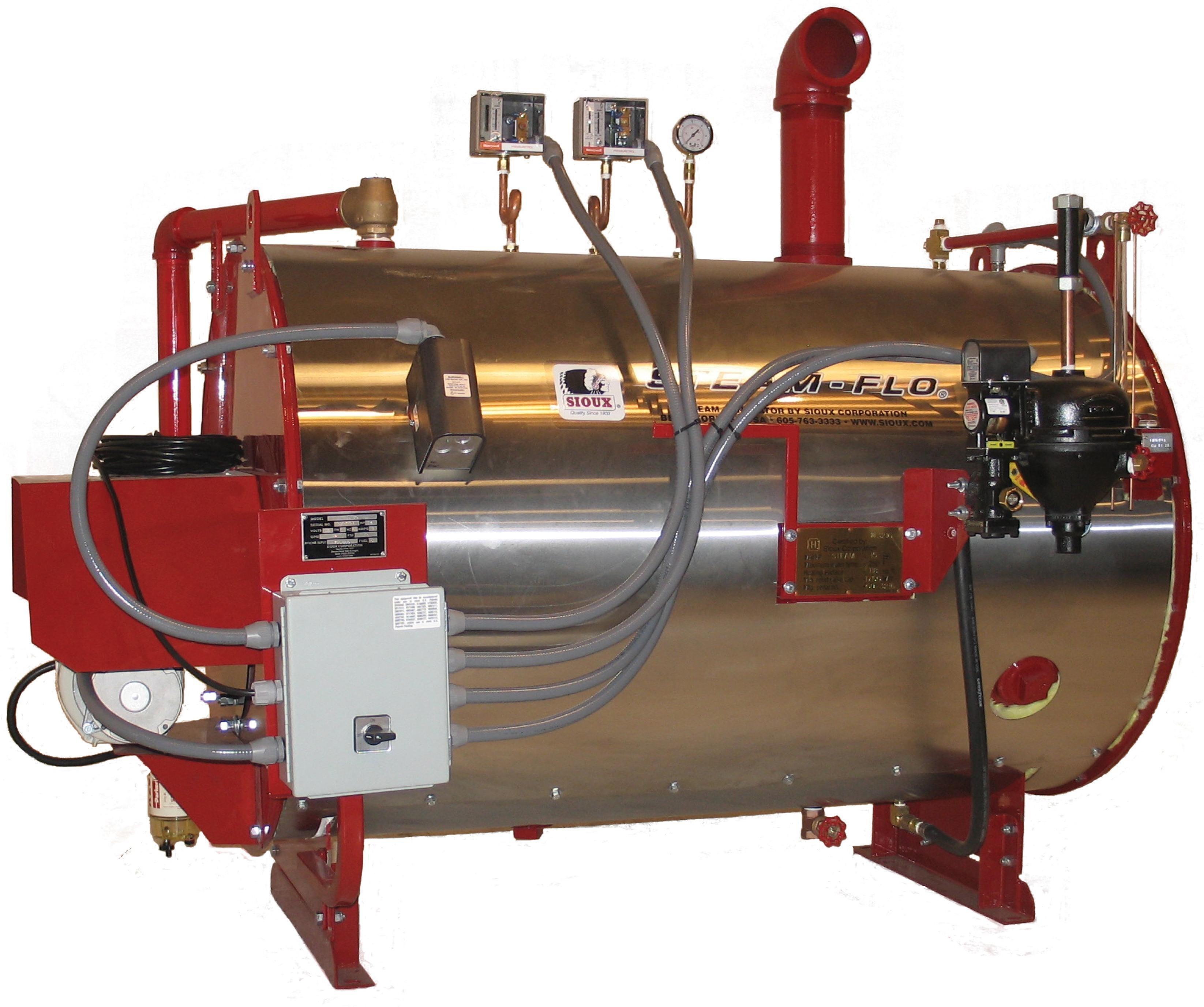 Sioux touts steam generator