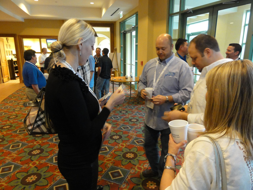 During a Sylectus user conference, business owners build partnerships in the Alliance network.