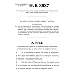 HR 3937 - Natural Gas Feasibility Study