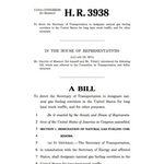 HR 3938 - Natural Gas Fueling Corridors