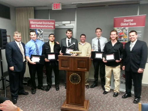 Meritor Recognizes Central Michigan University Students for Logistics Project[1]