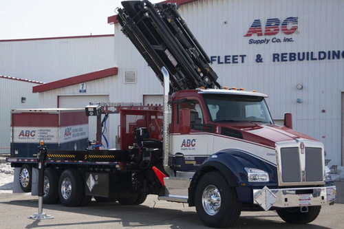 ABC Supply in Beloit, Wis., takes delivery of first ...
