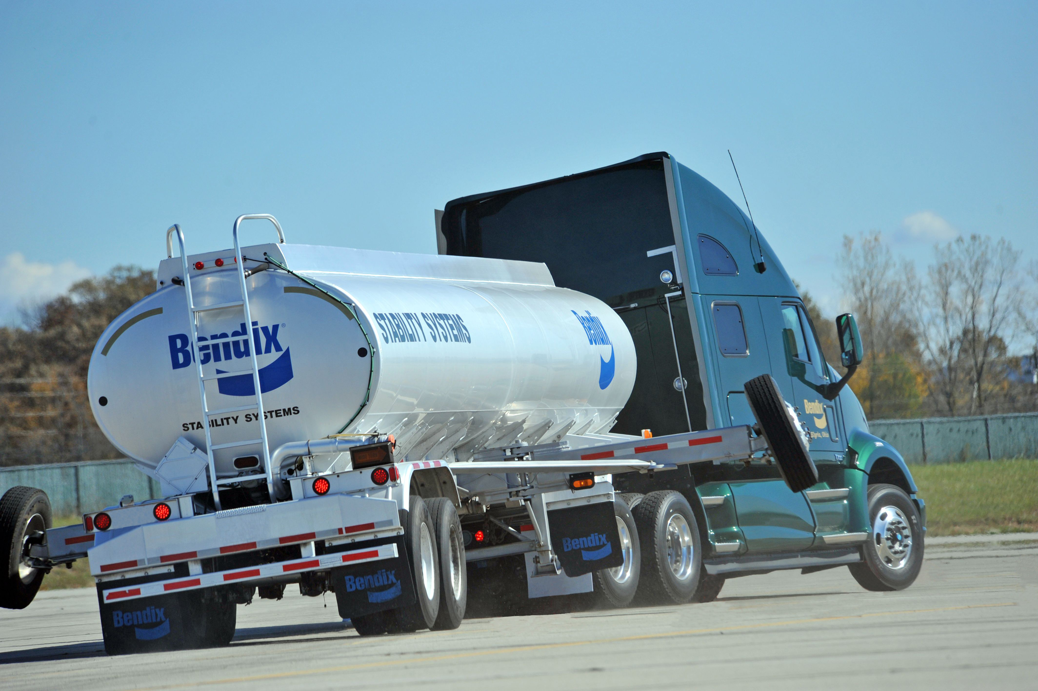 Bendix 300 000 trucks using its stability control system on road today