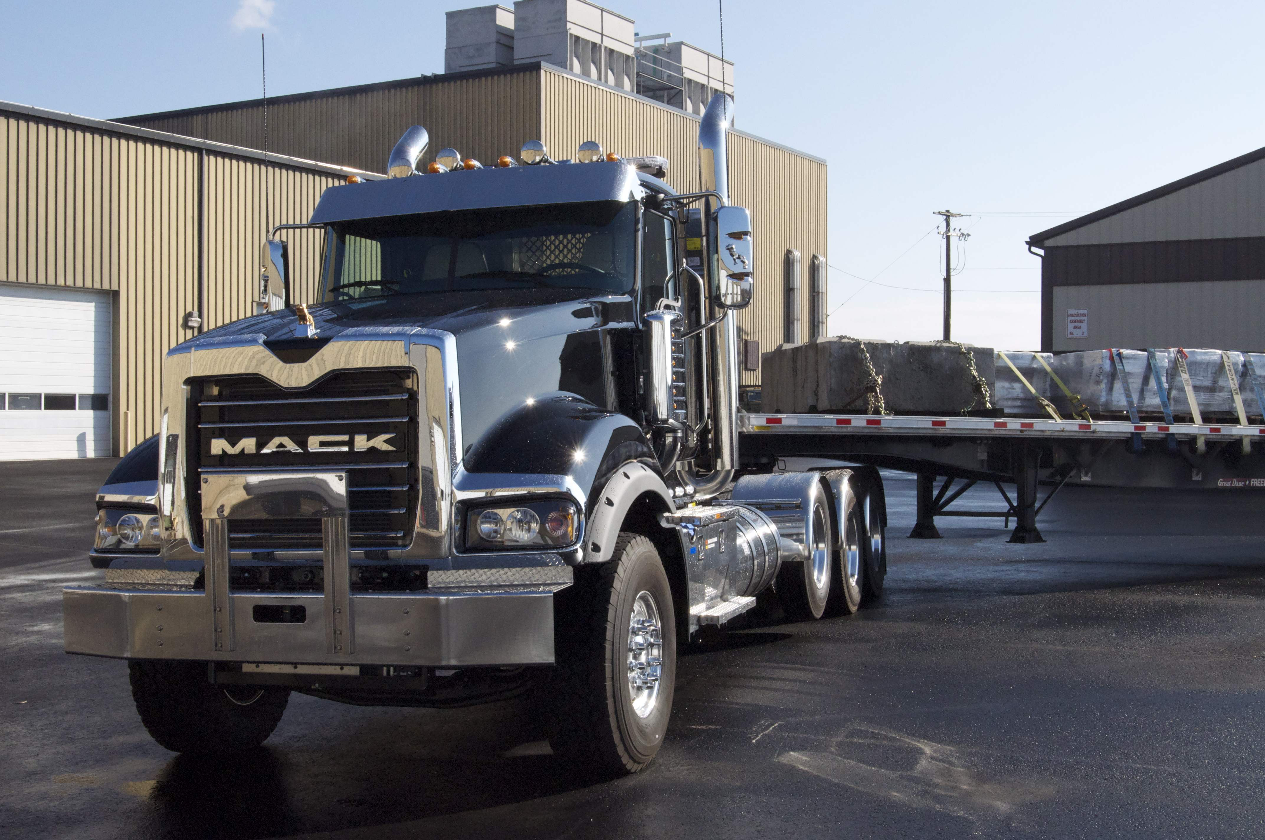 mack titan trucks