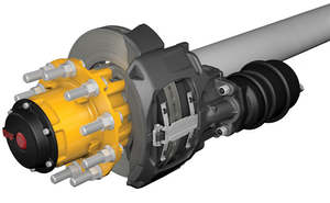 SAF-Holland introduces new brake system, wheel end package