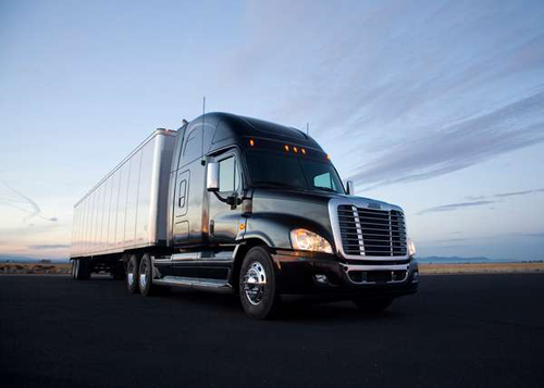 Daimler recalling more than 850 Freightliners due to Goodyear tire recall