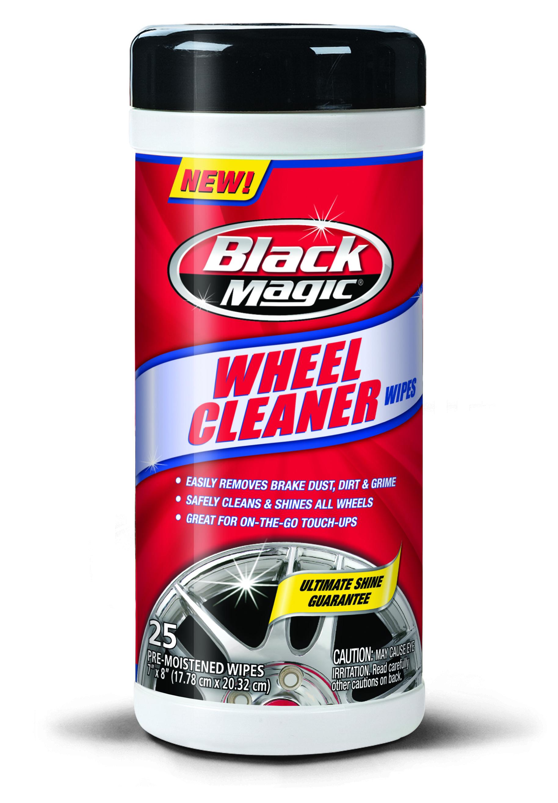 Black Magic Wheel Cleaner Wipes