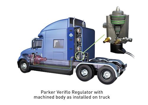 Parker CNG Vehicle Gas Regulator System