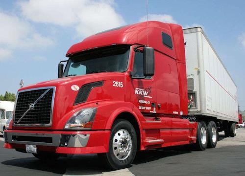 Pomona, Calif.-based KKW Trucking runs with Yokohama Tire's Zenvironment low-rolling-resistance tires.