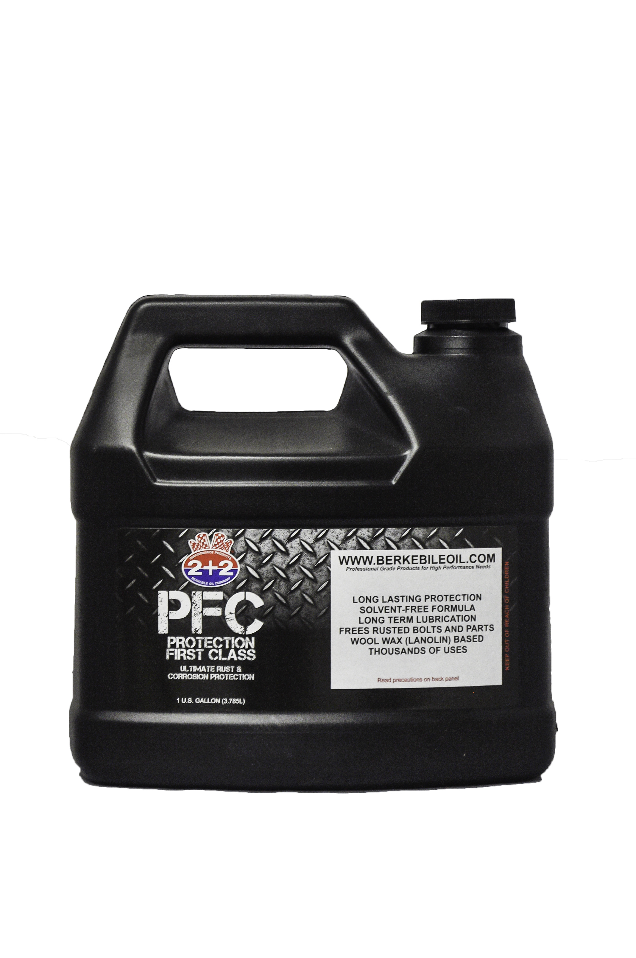 Berkebile Oil Protection First Class penetrating lubricant and rust inhibitor