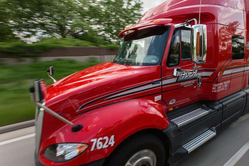 Roehl Transport semi truck