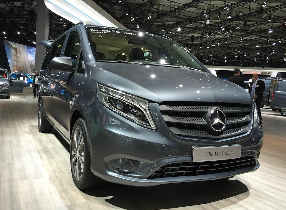 Mercedes Benz Updates North American Van Market, Will Introduce Mid Sized  Van In 2015