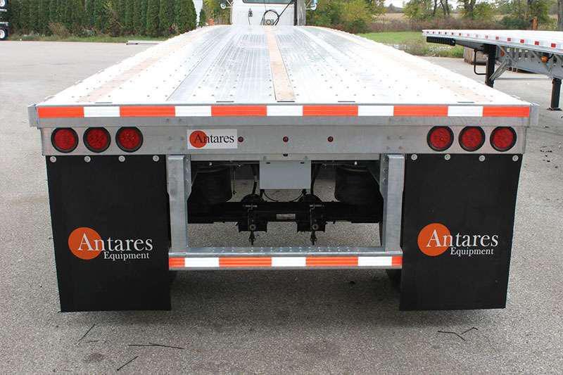 Antares Equipment flatbed trailer