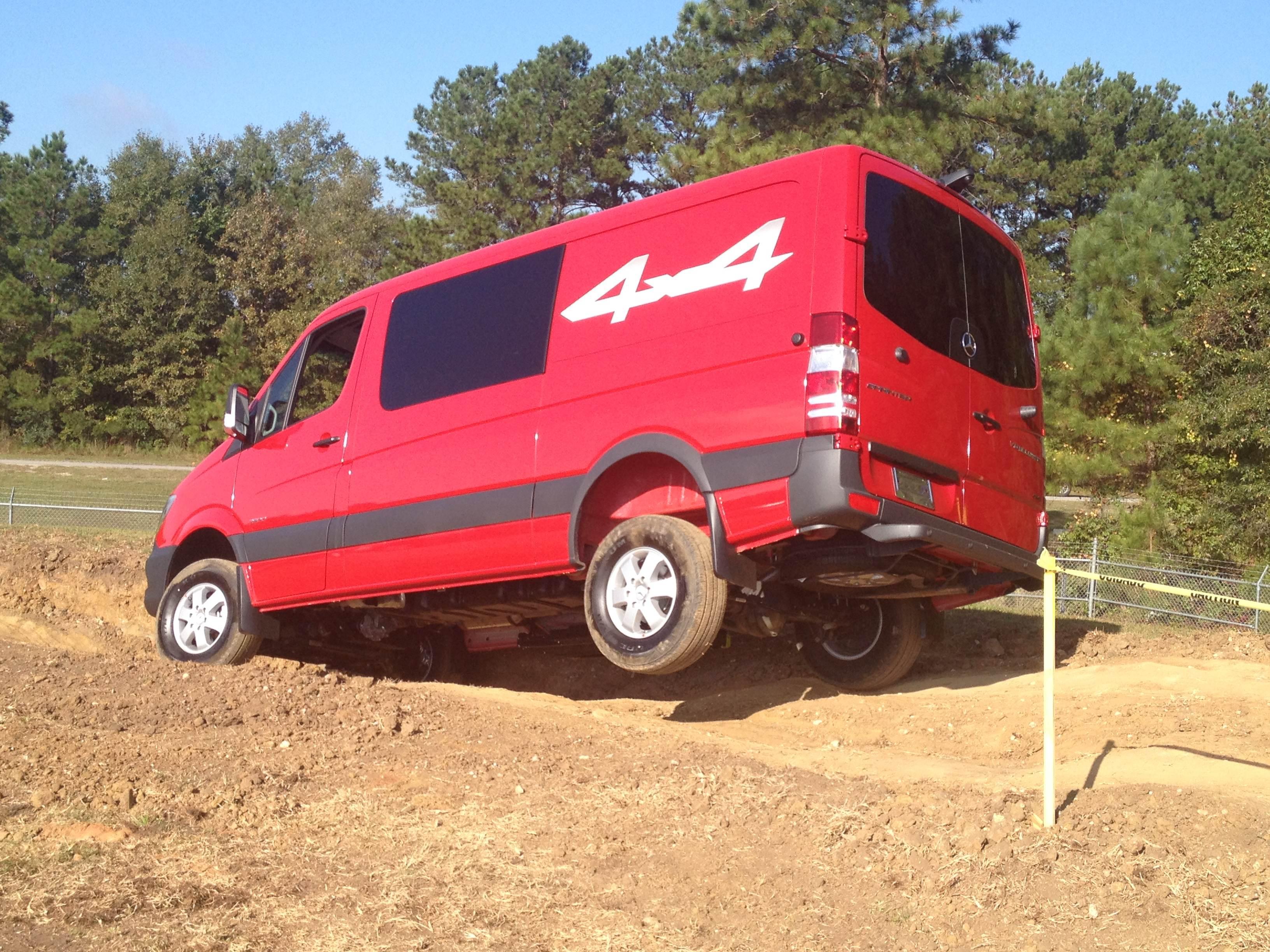 CCJ test drive: 2015 Sprinter 4x4