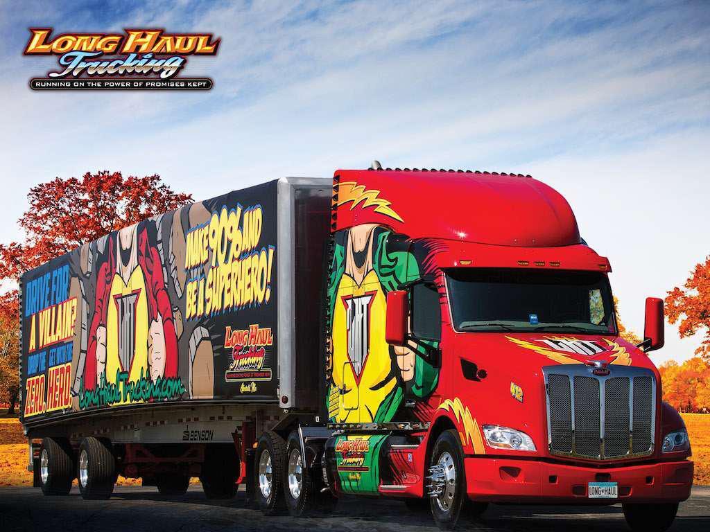 ccj innovator  long haul trucking uses in