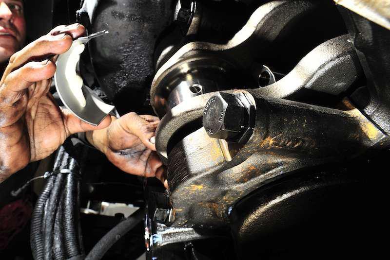 Shop work mechanic engine
