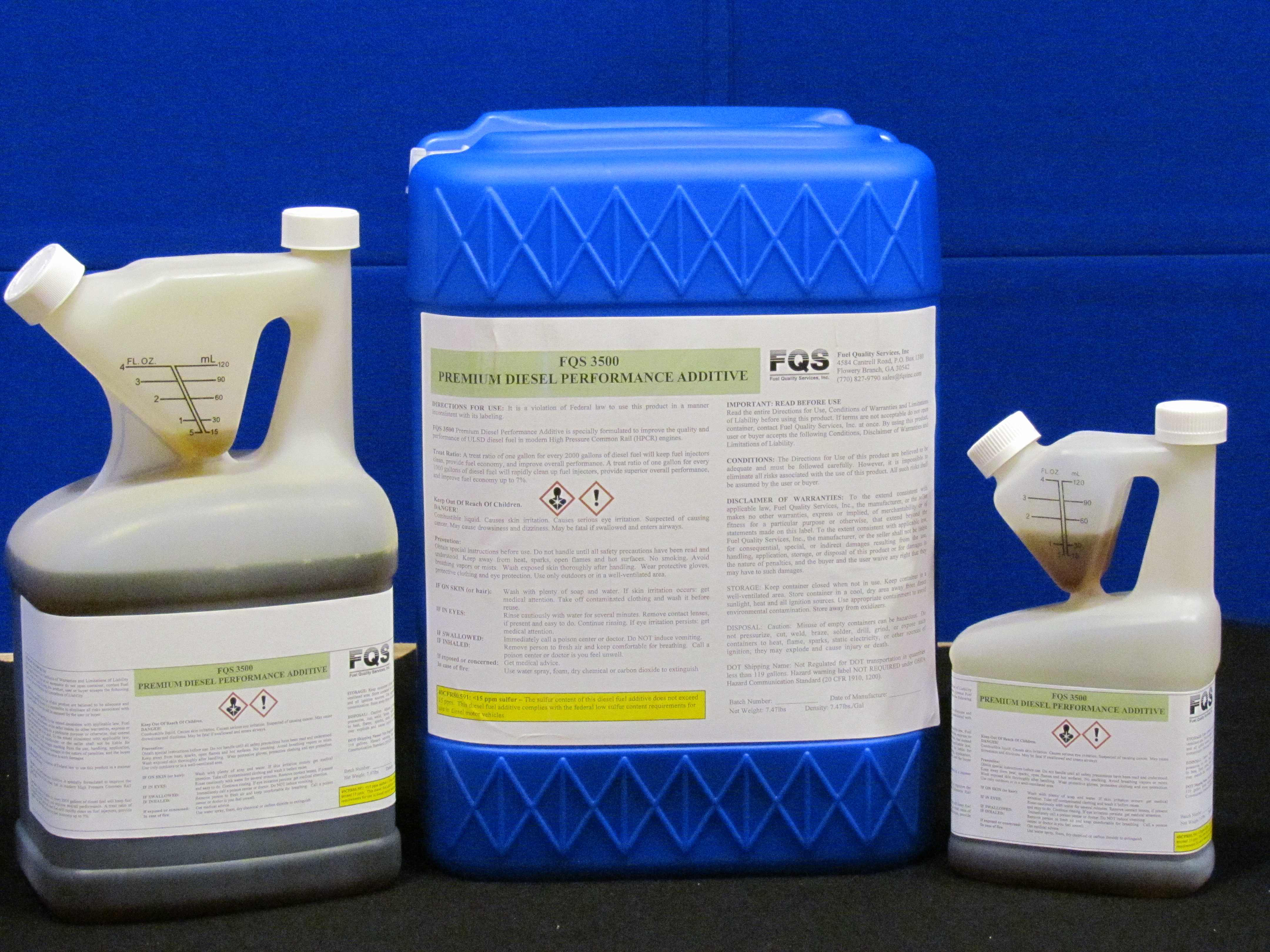 FQS3500 Premium Diesel Additive