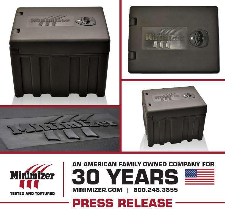 Minimizer 18-Inch Poly Tool Box