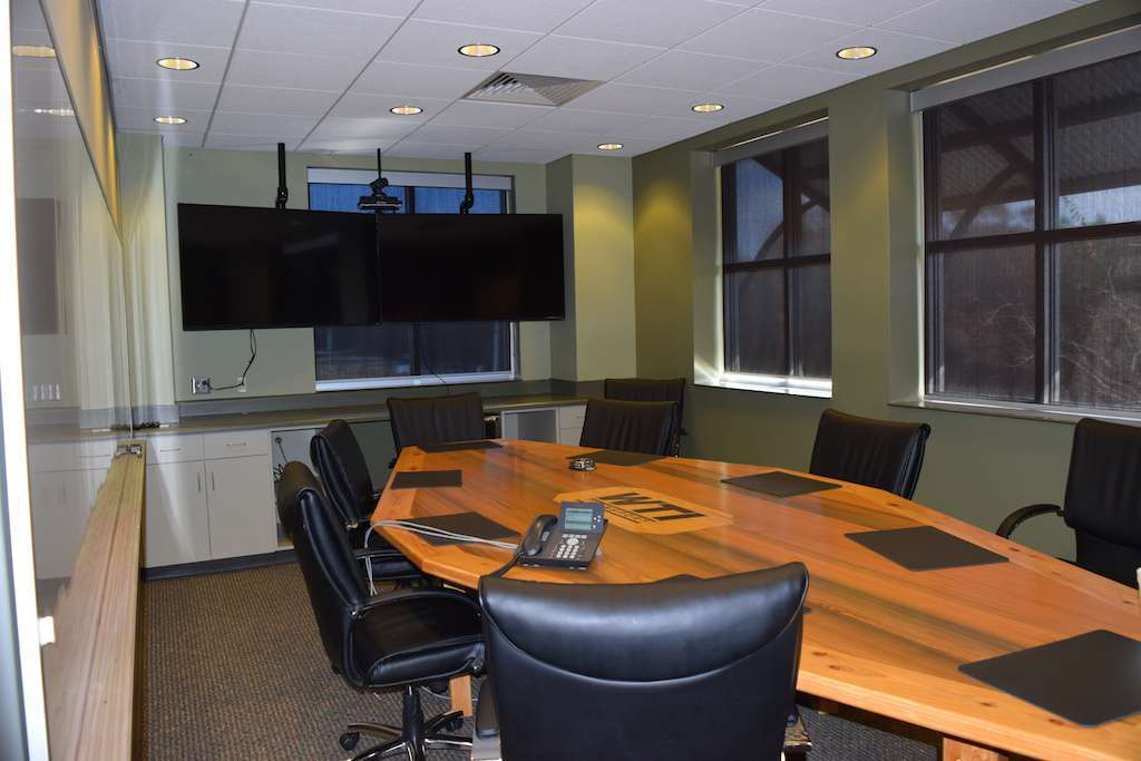 One of the company's new conference rooms.