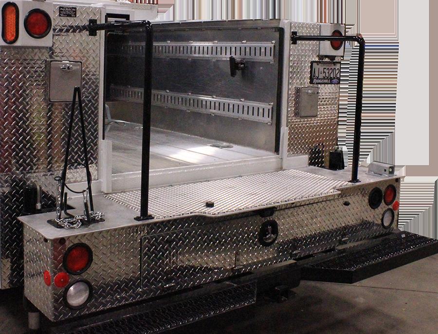 Pride Bodies aluminum mechanics bumper