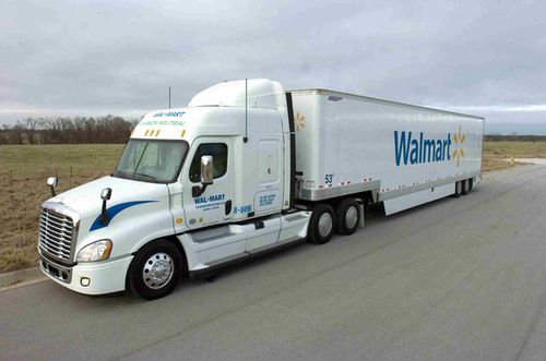 Walmart Transportation employs a series of improvements and innovations to deliver more goods with fewer miles traveled.
