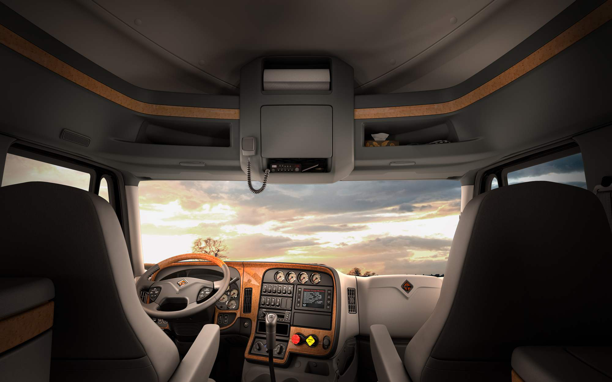 Connected and comfortable: Next-gen trucks changing the way drivers live and work on the road