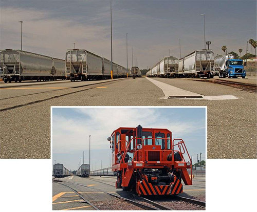 A&R Logistics' railcar facility in San Bernardino, Calif., is staffed by its own rail technicians who track all daily inventories of transloading activities.