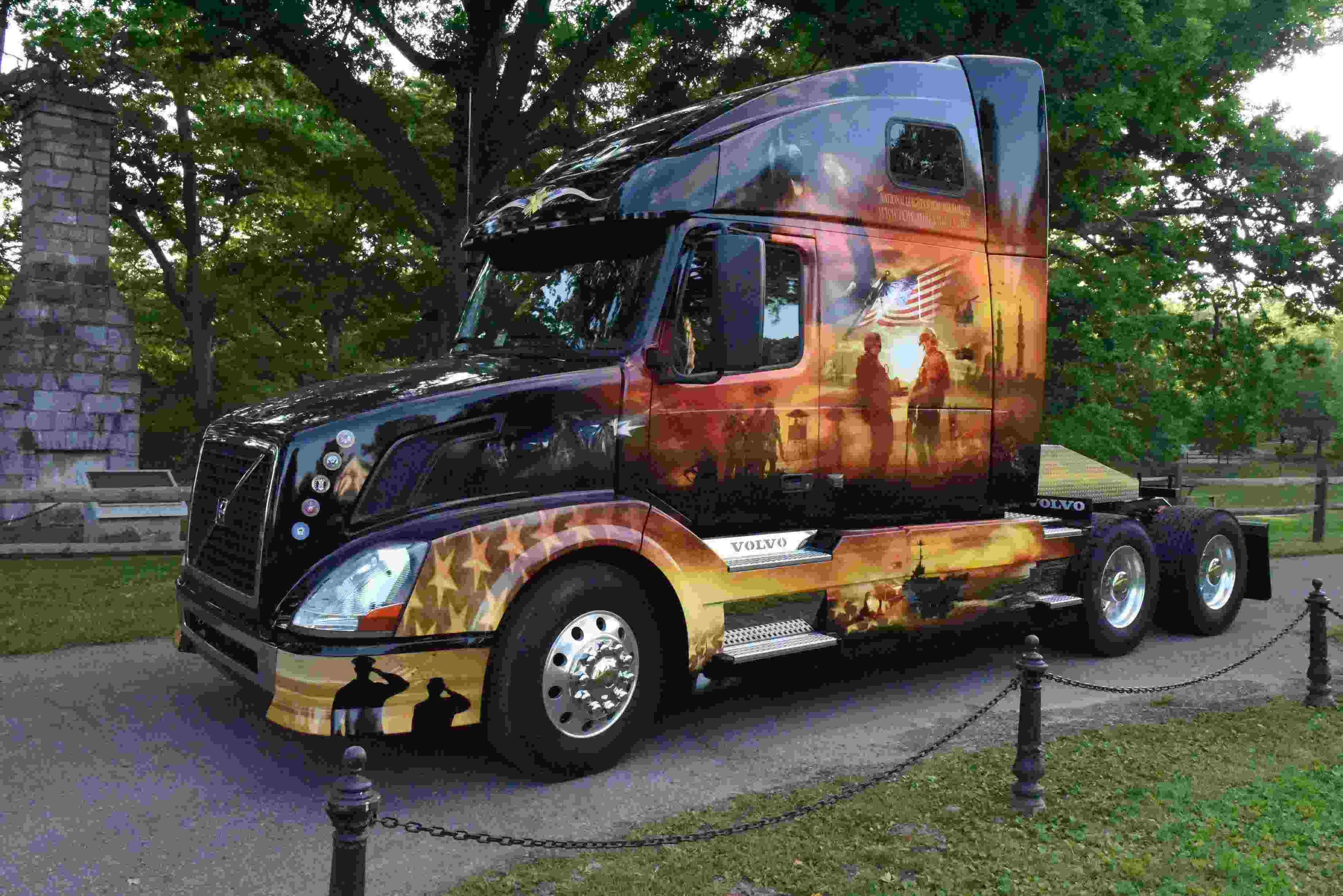 Volvo, Mack honor service members with Memorial Day tribute trucks